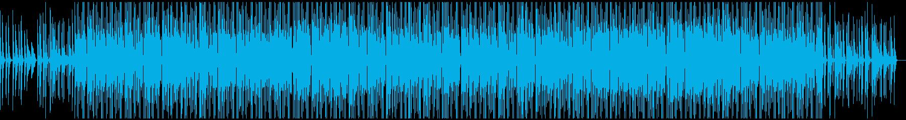 ピアノとギターの旋律が美しいジャズの再生済みの波形