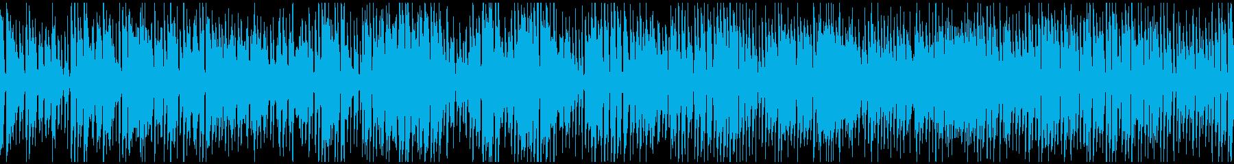 のほほんハッピージプシージャズ※ループ版の再生済みの波形