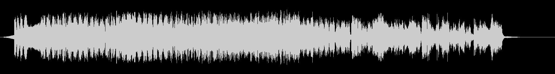 レトロスペースの未再生の波形