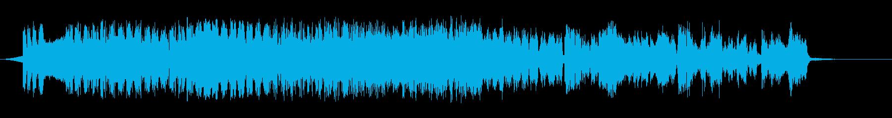 レトロスペースの再生済みの波形