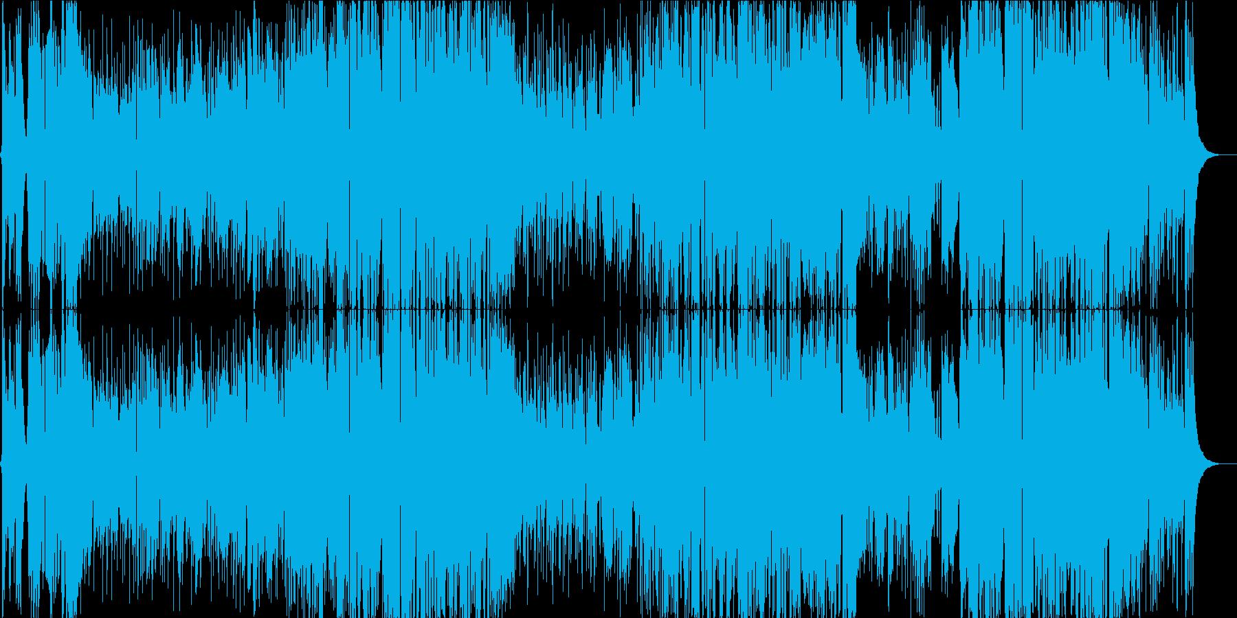 前向きな気持ちを後押しする女性ボーカルの再生済みの波形