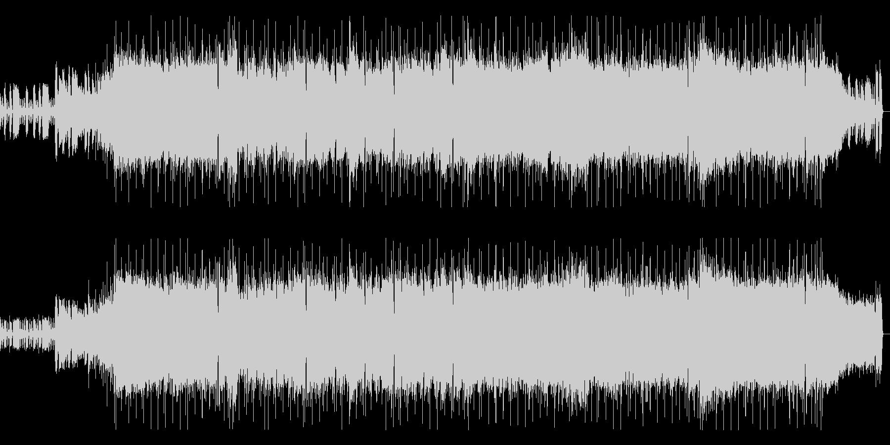インパクトあるギター旋律のロックポップの未再生の波形