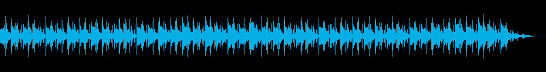 夜明けをイメージしたBGMの再生済みの波形