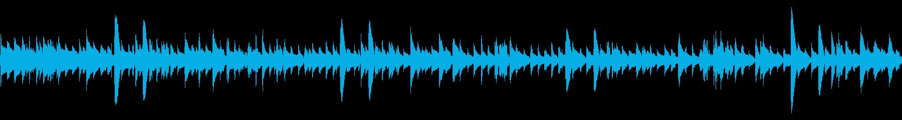アコギ47-ループ/爽やか 明るいの再生済みの波形