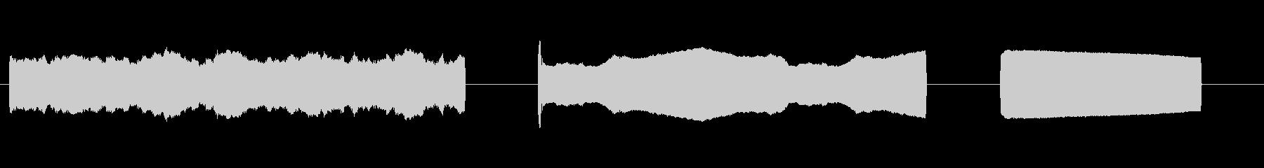 レーザービーム大型レーザービーム_...の未再生の波形