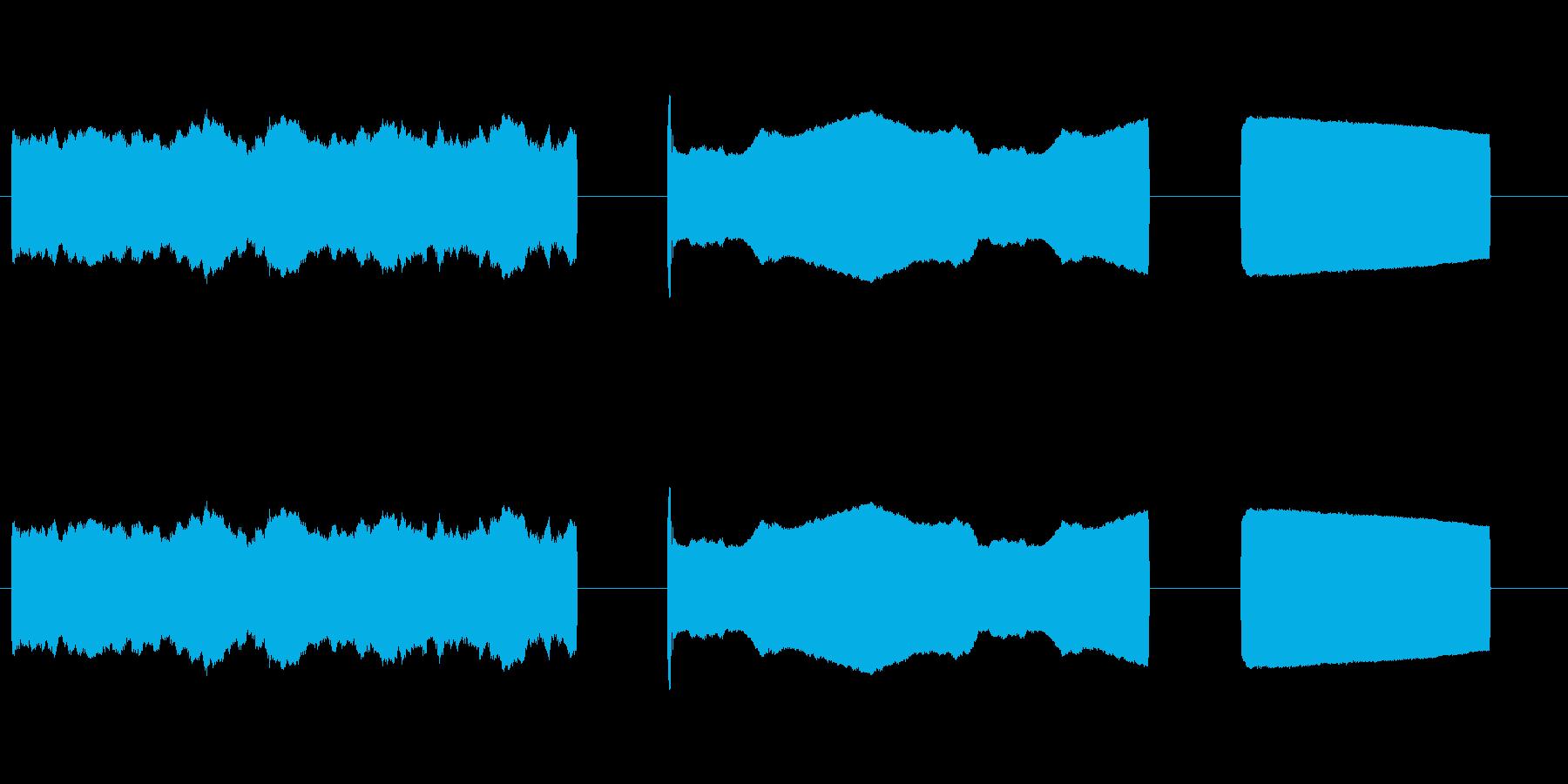 レーザービーム大型レーザービーム_...の再生済みの波形
