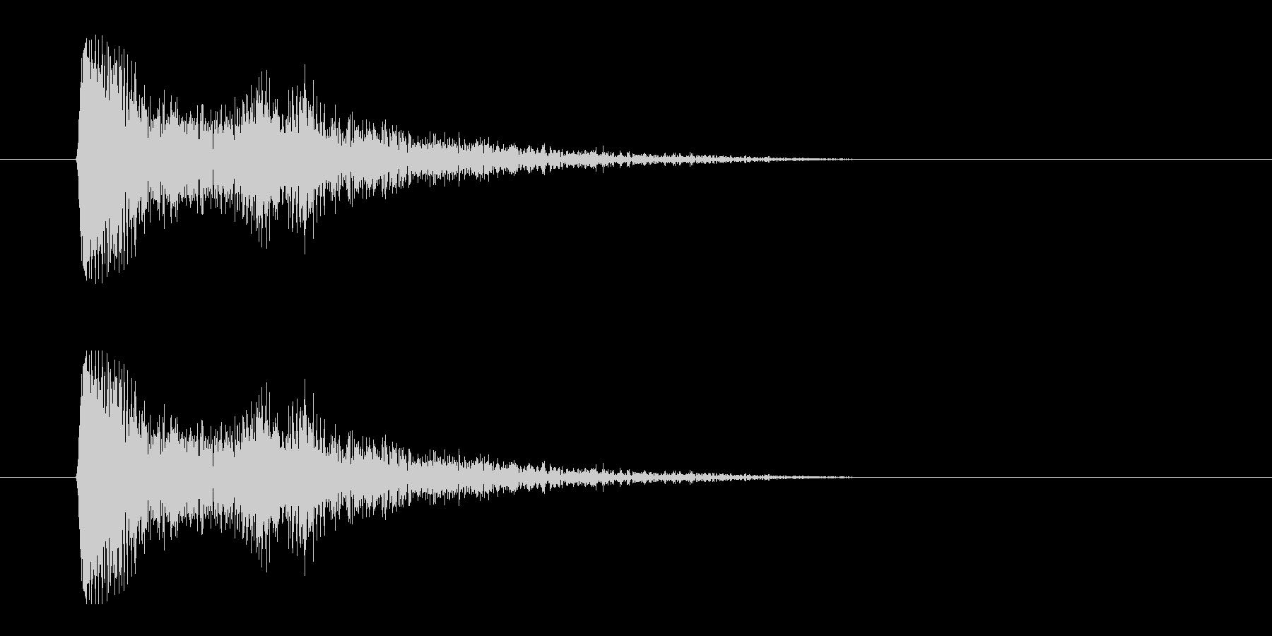レーザー音-02-3の未再生の波形