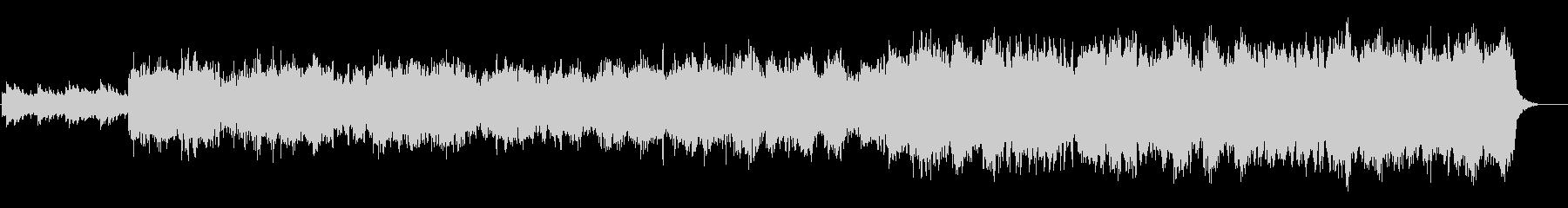 喜多郎風の夕焼けのセンチメンタルな曲の未再生の波形
