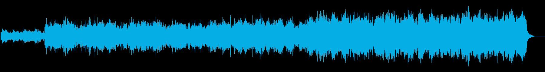 喜多郎風の夕焼けのセンチメンタルな曲の再生済みの波形