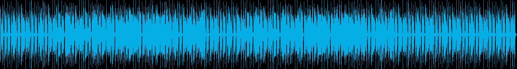 アコギでほのぼのBGMの再生済みの波形