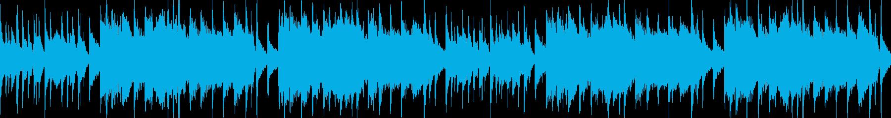 中国風のBGM(ループ)の再生済みの波形