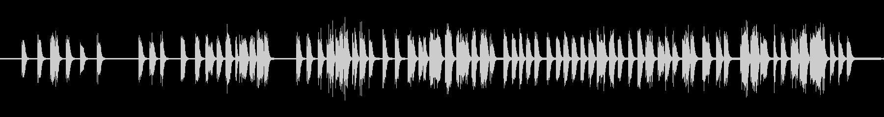 ロボット音声、小、フランキー、電子...の未再生の波形