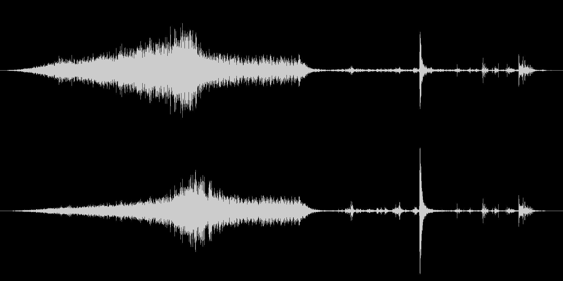 オールドピックアップトラック:内線...の未再生の波形