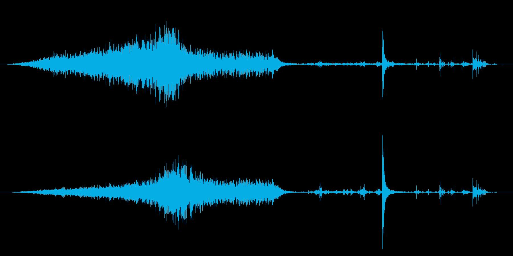 オールドピックアップトラック:内線...の再生済みの波形