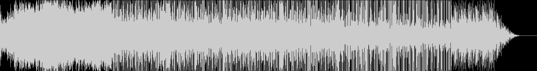 女性ボイスをサンプリングしたスローハウスの未再生の波形
