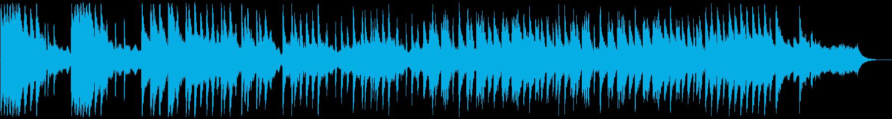 短めのピコピコBGM チップチューンの再生済みの波形