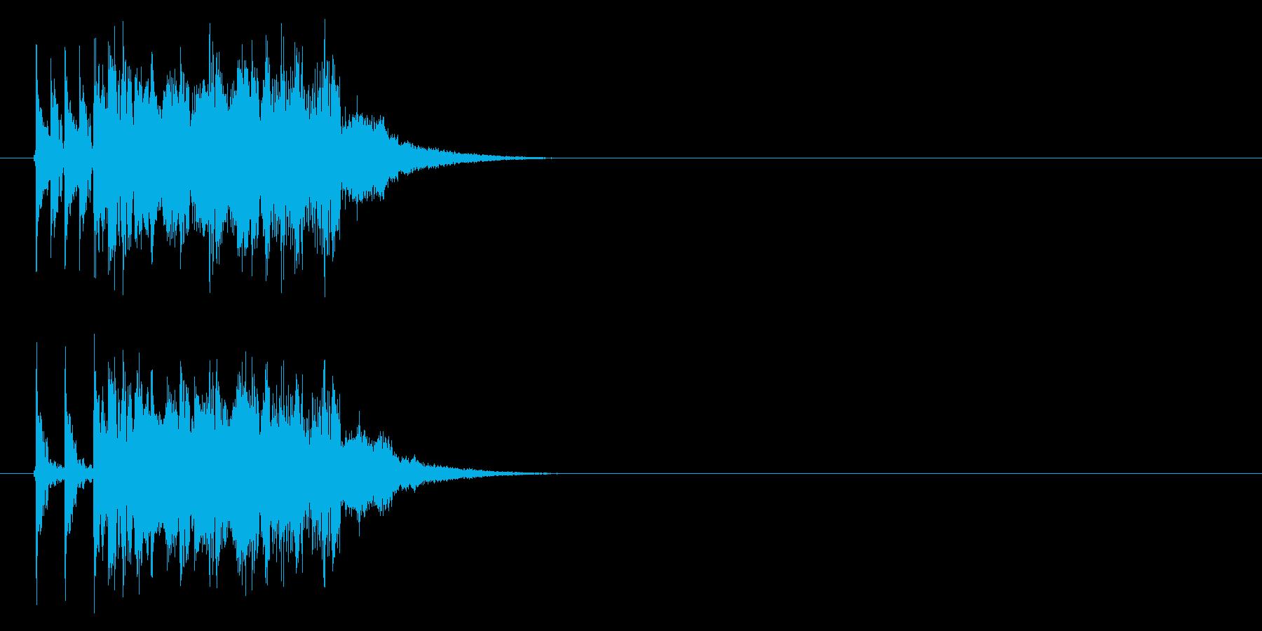打ち込み系エレクトリック・ファンクの再生済みの波形