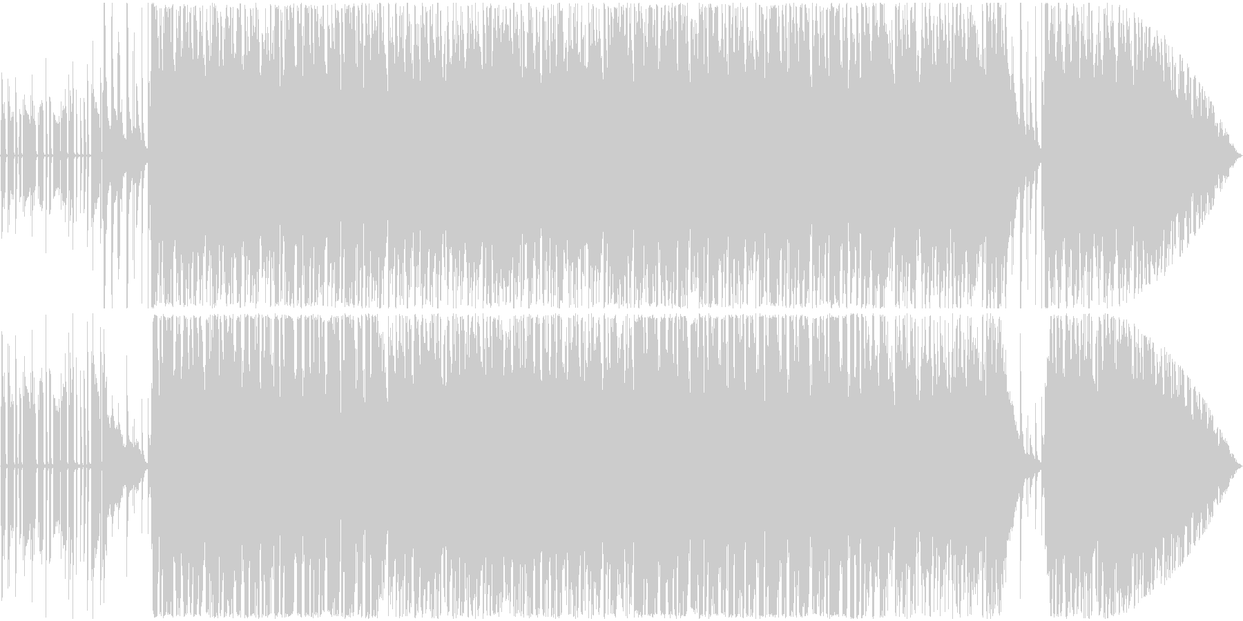 ビブラフォンの音色がエロい速めJazzの未再生の波形