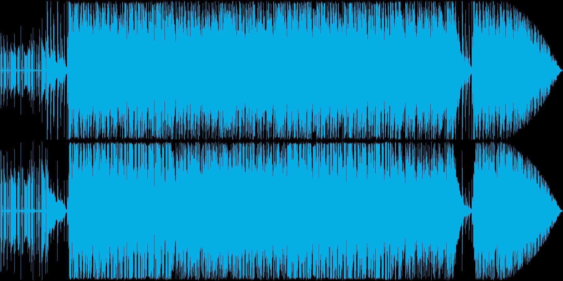 ビブラフォンの音色がエロい速めJazzの再生済みの波形