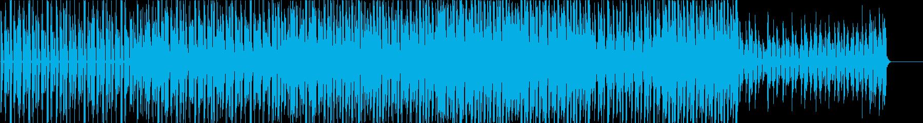 元気の出るかわいいテクノポップの再生済みの波形