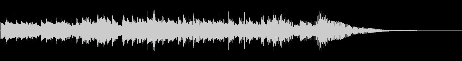 KAN_A.ギターオープニングソロの未再生の波形