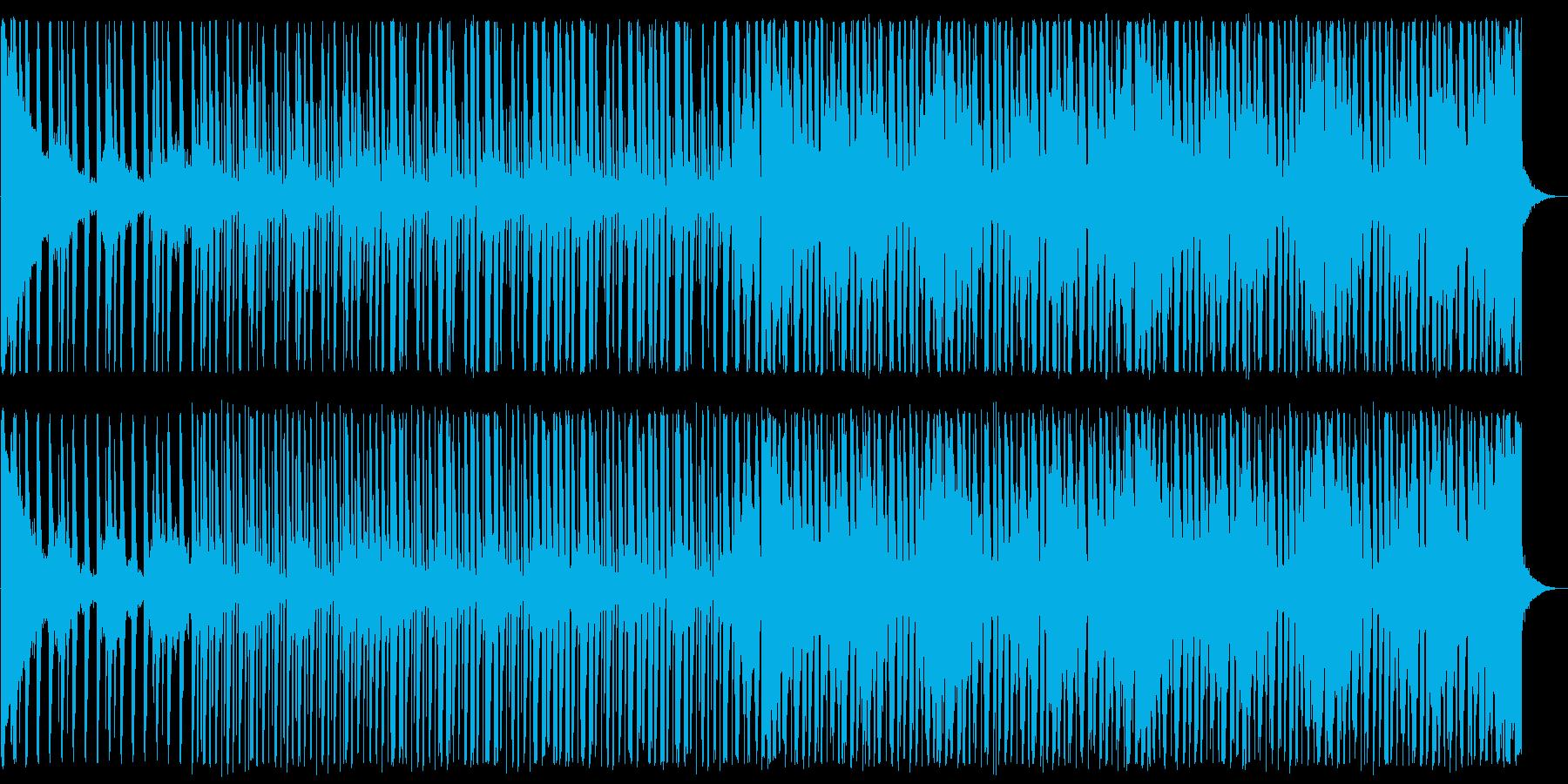 涼しげなディープハウス_No615_3の再生済みの波形