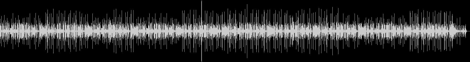 スローなファンクの未再生の波形