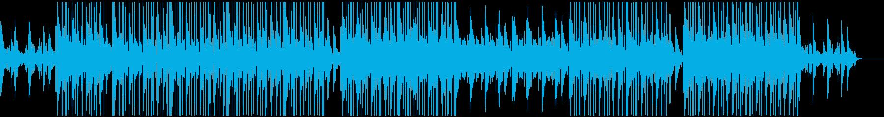 チルアウト、トラップソウル、R&B♪の再生済みの波形
