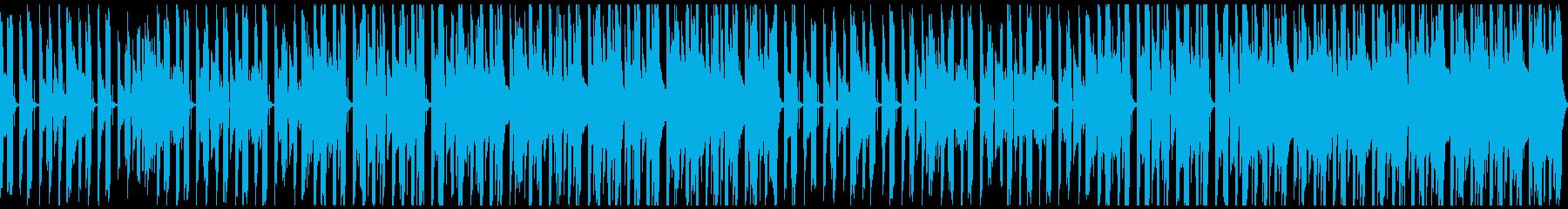 慎ましいながらも温かいイメージのアコギ曲の再生済みの波形
