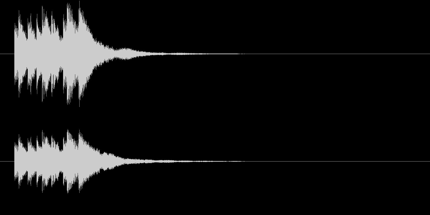 キラリン キラキラ 星 グロッケン 5の未再生の波形