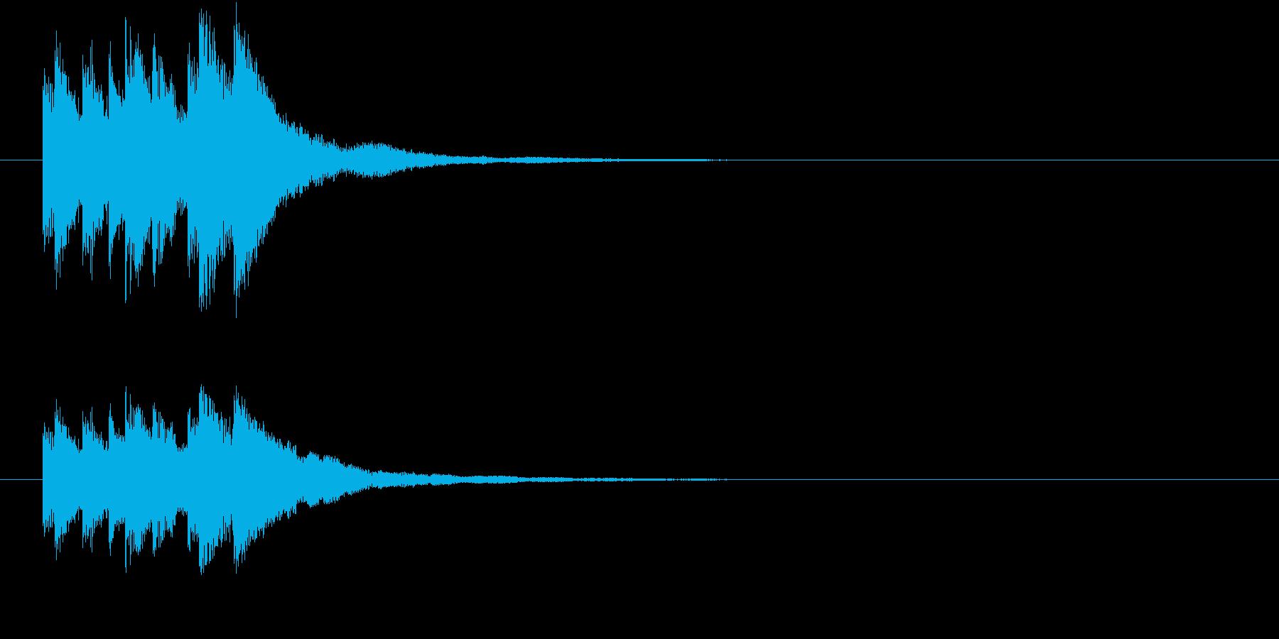 キラリン キラキラ 星 グロッケン 5の再生済みの波形