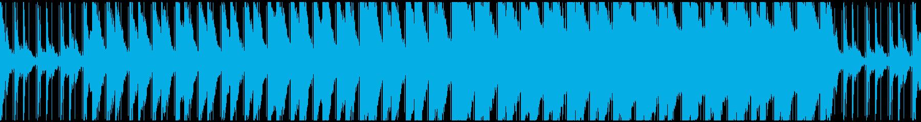 【ループ対応】幻想的・神秘的なEDMの再生済みの波形