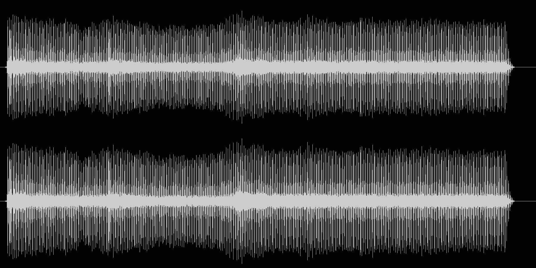 ジージーと、電流の流れる音ですの未再生の波形