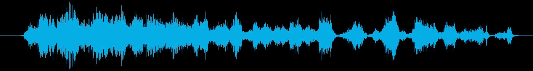客席の爆笑・大勢の笑い声[stereo]の再生済みの波形