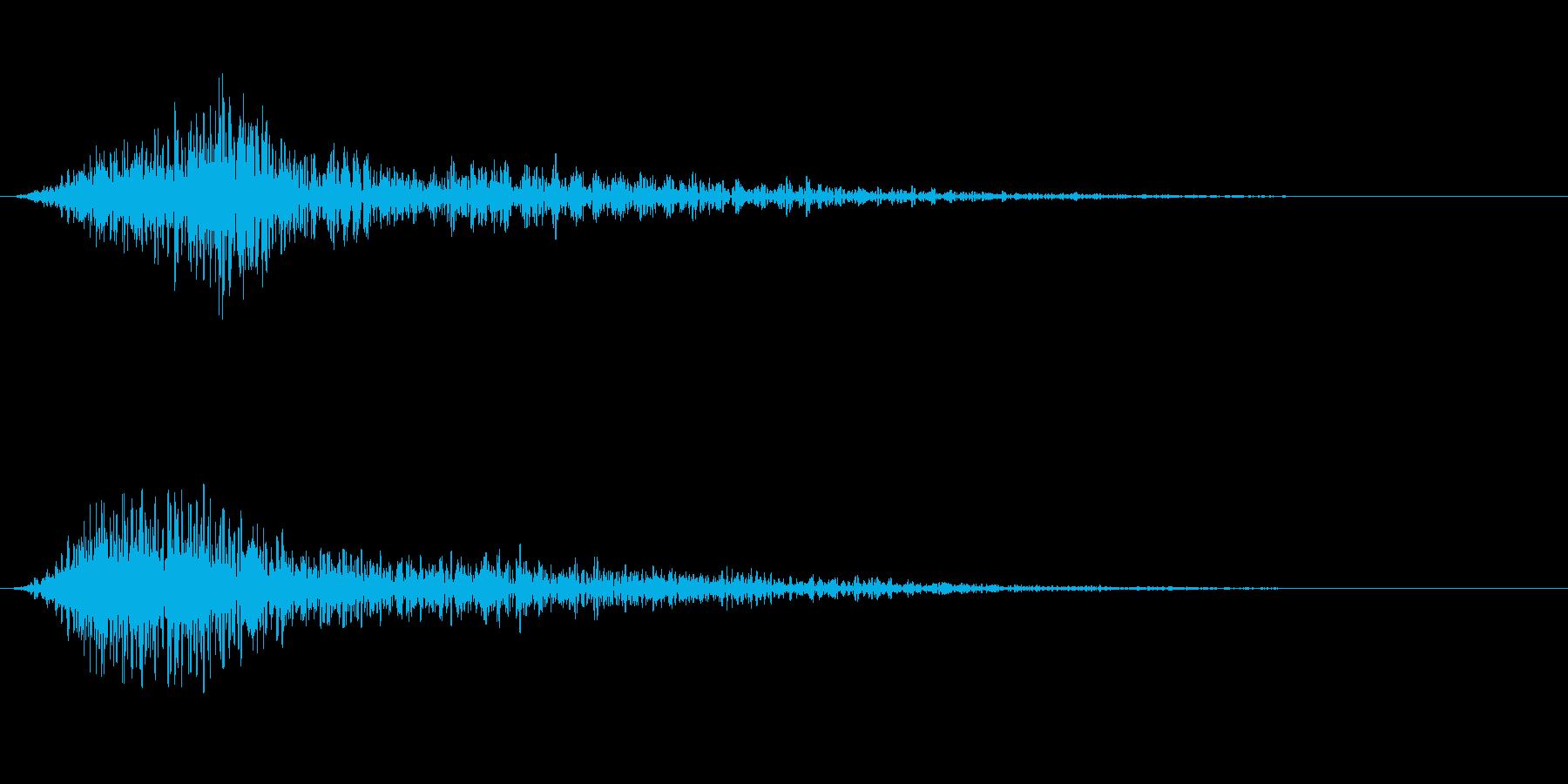 大胆な出会い3の再生済みの波形