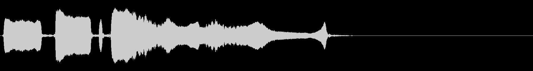 ソングホイッスル まぬけ(リズミカル2)の未再生の波形