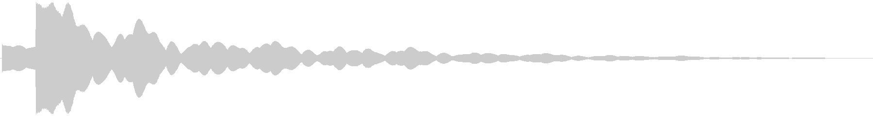 キラーン(お星さま風)の未再生の波形