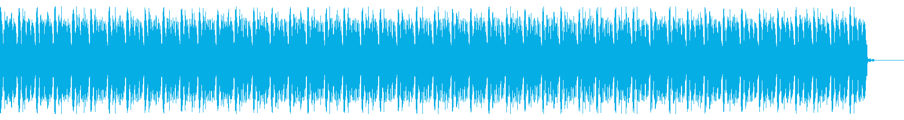 ニュース・報道番組用BGMの再生済みの波形