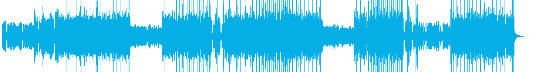 「DARK/ROCK」BGM329の再生済みの波形