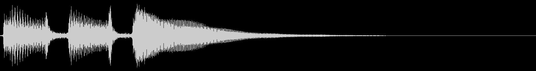 アコギ生音のジングル/元気2の未再生の波形