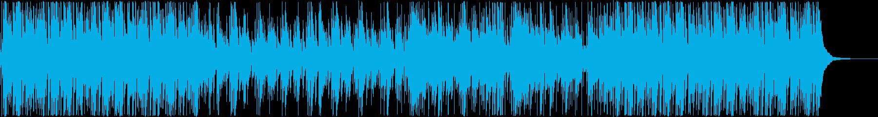 切ない感じの90年代J-POP風インストの再生済みの波形