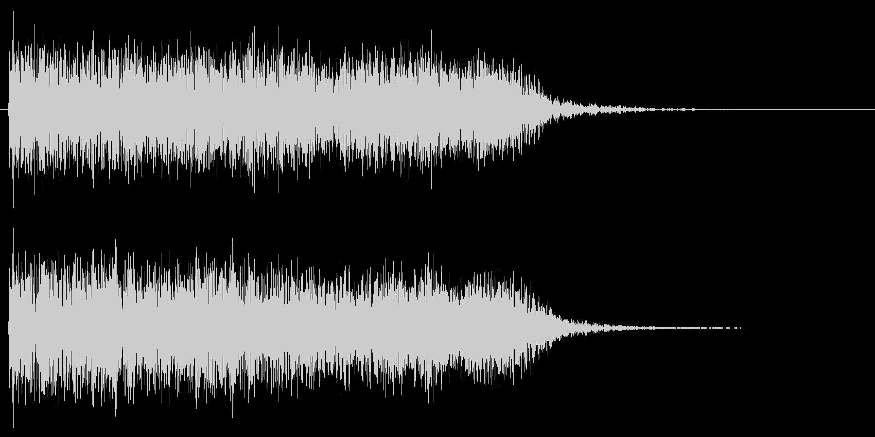 メタルギターフレーズ クラシカルでクールの未再生の波形