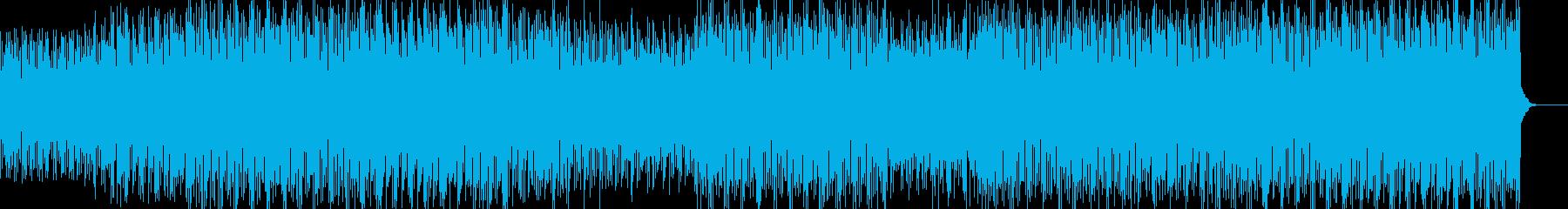 幻想パワフルデジロック高速ビート180秒の再生済みの波形