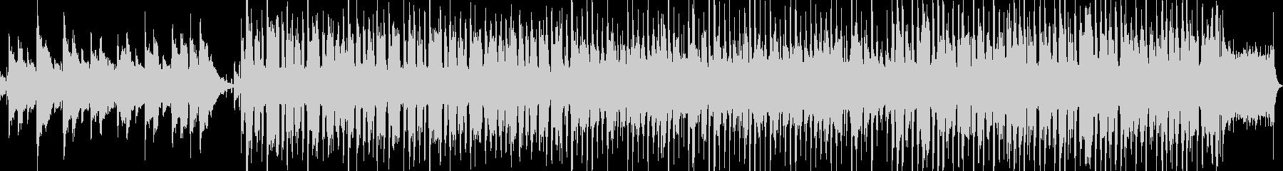 ハッピーバースデー ジャズアレンジの未再生の波形
