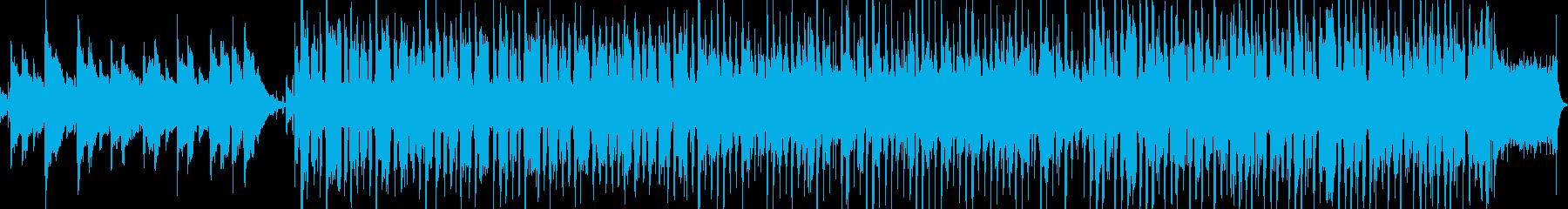 ハッピーバースデー ジャズアレンジの再生済みの波形