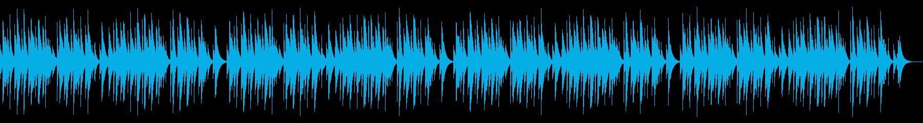 蛍の光 カード式オルゴールの再生済みの波形