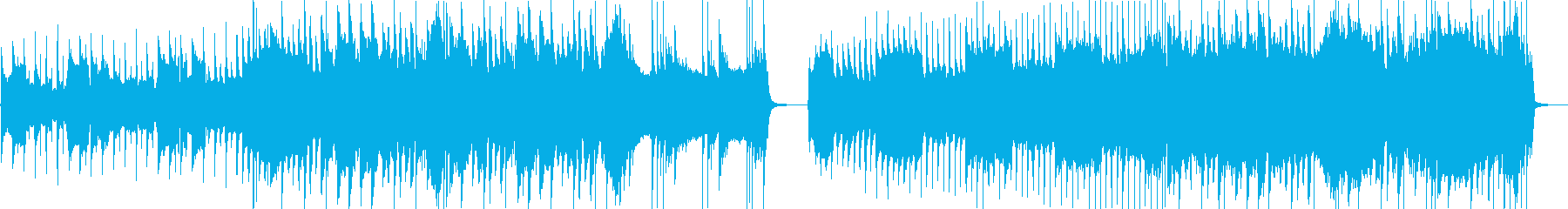 脈動する低音の安定した溝付きドラム...の再生済みの波形