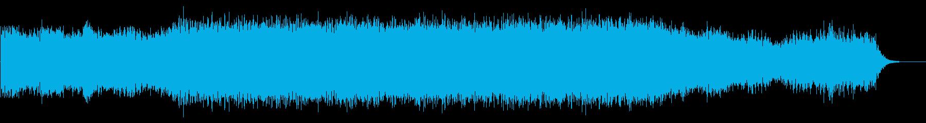 アンビエント・神秘的・リラックス・時計Fの再生済みの波形
