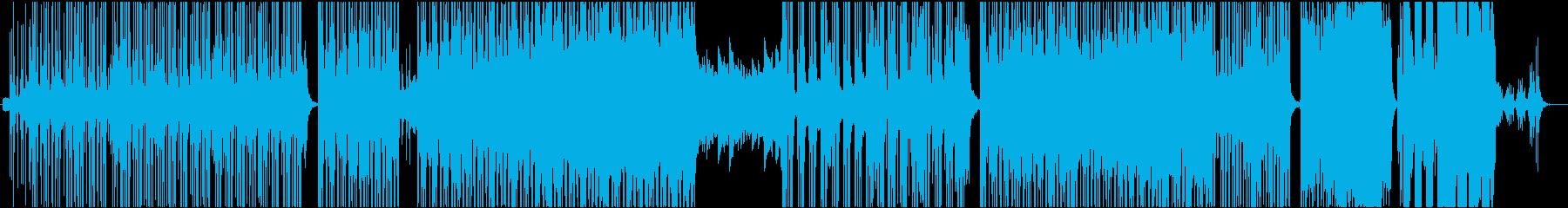 モダン テクノ ポップ ロック ア...の再生済みの波形