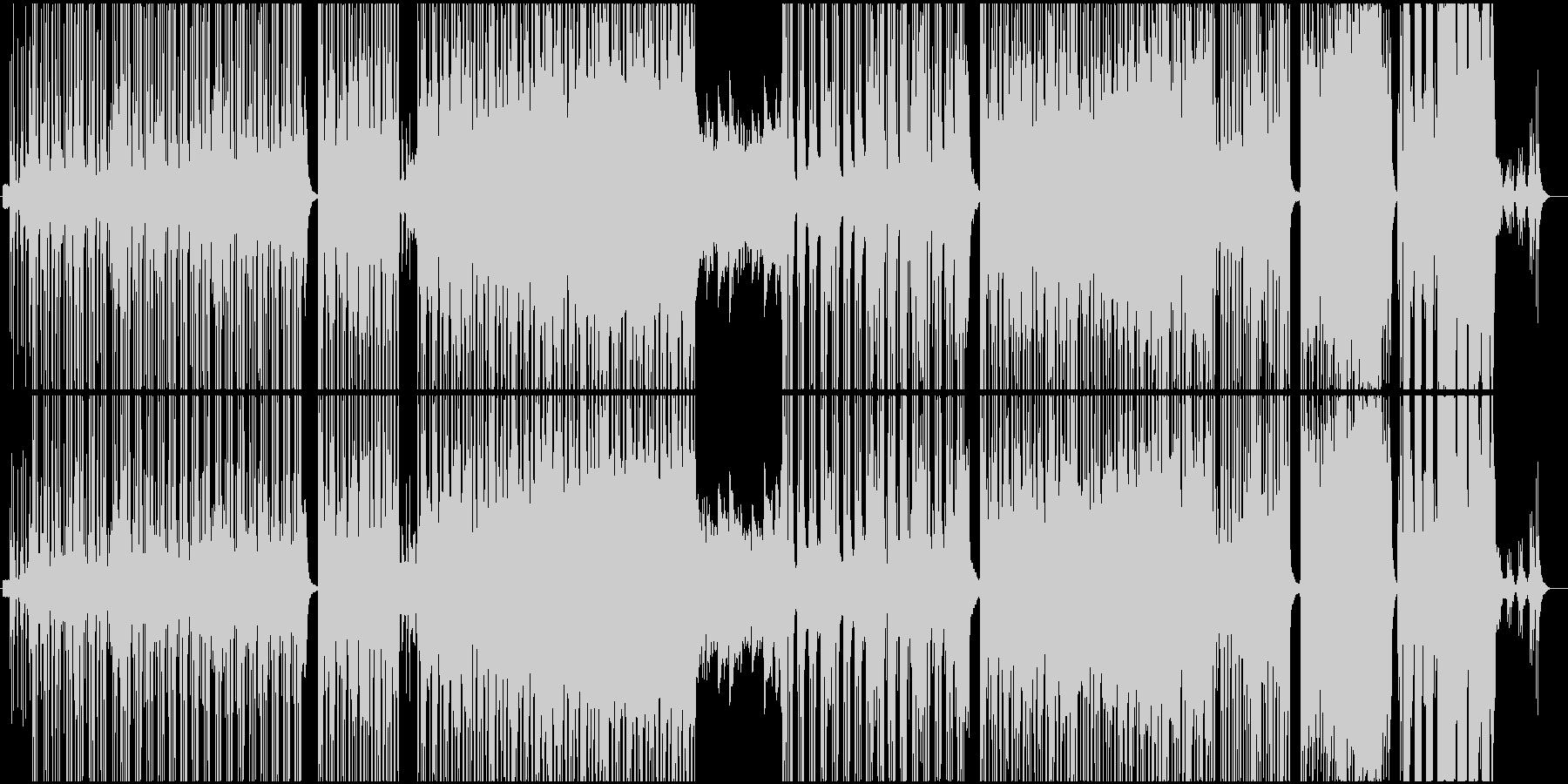 モダン テクノ ポップ ロック ア...の未再生の波形
